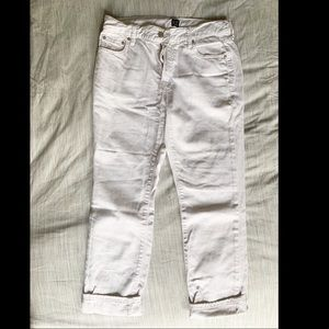 "Gap Bran True White ""girlfriend"" jean"